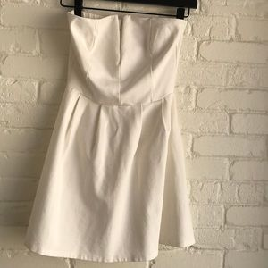 Lulu cream mini dress Small